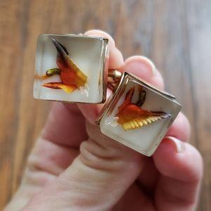 Bird cufflinks